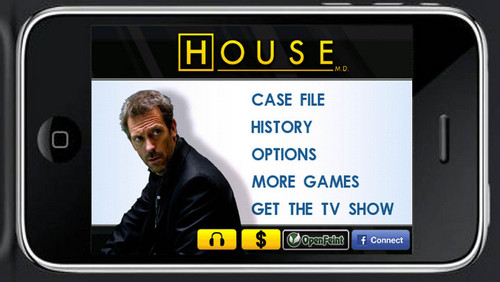 house md game - iphone - сделать ставку, ipod touch and ipad