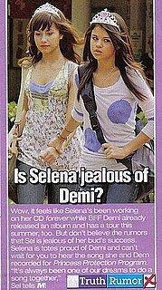 is selena jealous at demi???