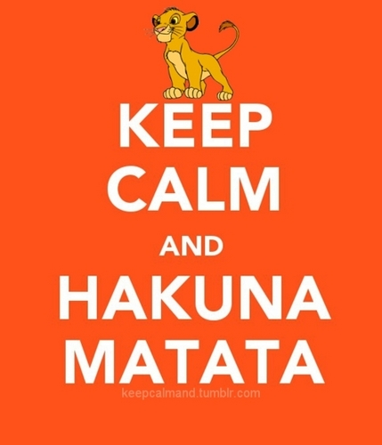 keep calm an Hakuna Matata - keep-calm Photo