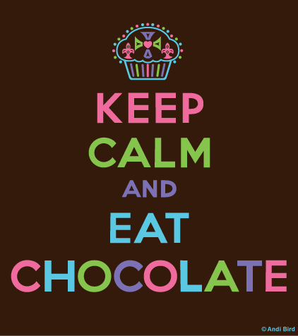 Keep Calm wallpaper titled keep calm and eat chocolate