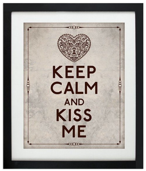 Keep calm and kiss me images