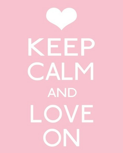 we heart it wallpaper titled keep calm and love on