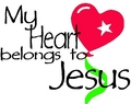 my heart and your heart belongs to jesus