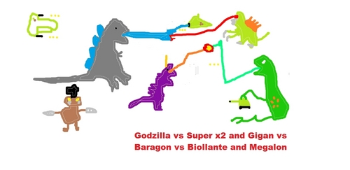 one of the best godzilla fights ever