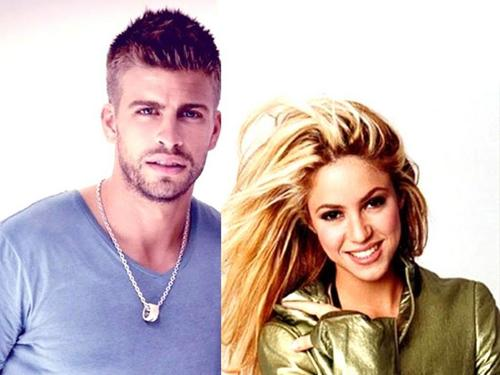 pique and Shakira