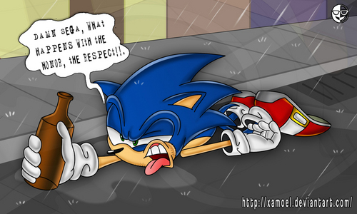 sonic and the black days