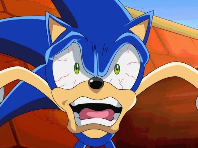 Sonic The Hedgehog Funny Face Lol