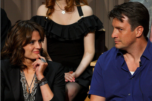 Nathan Fillion & Stana Katic wallpaper entitled <3Stanathan<3