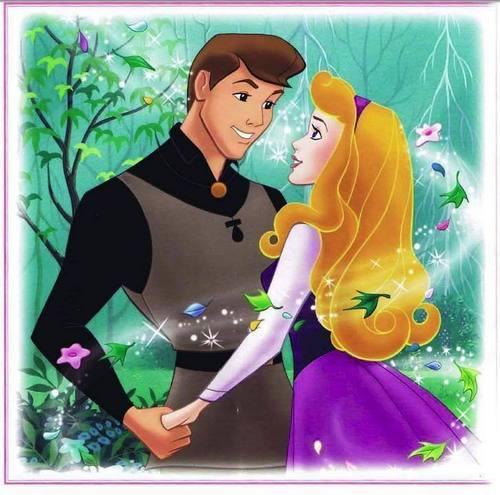 Aurora and Phillip karatasi la kupamba ukuta titled ♥Aurora and Phillip♥