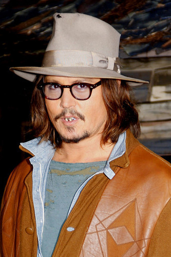 'Rango' Los Angeles Premiere - Johnny Depp 14 Feb 2011