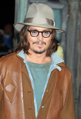 'Rango' Los Angeles Premiere - Johnny Depp 14 Feb 2011