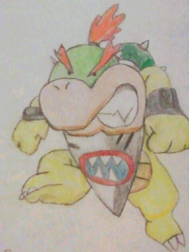 Angry Bowser Jr.