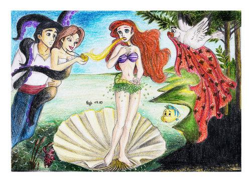 Ariel as Venus