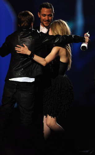 Avril at Brit Awards 2011