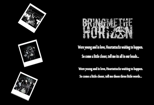 Bring Me The Horizon پیپر وال probably containing عملی حکمت titled BMTH پیپر وال