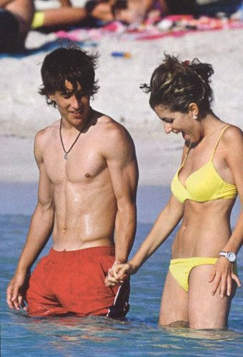 Bojan and his girlfriend