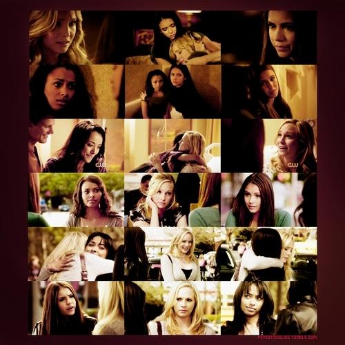 Bonnie Caroline and Elena