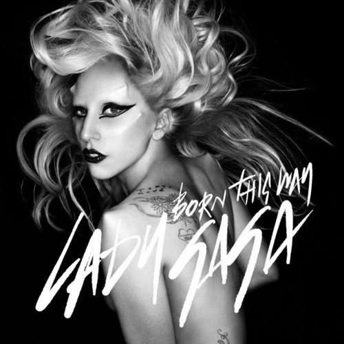 lady gaga wallpaper with a portrait titled Born This Way