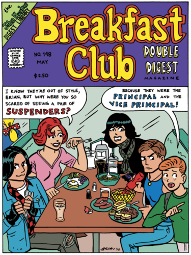 Breakfast Club Fanart