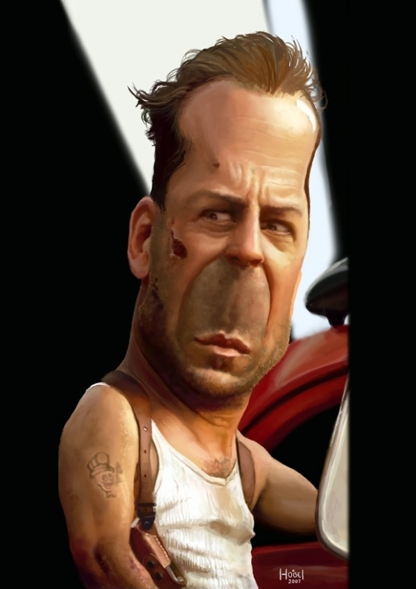 Bruce Willis! - Bruce Willis Fan Art (19394120) - Fanpop Bruce Willis