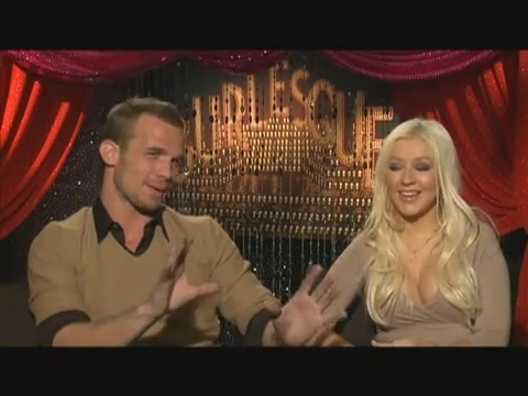 Cam Gigandet wallpaper called Cam Gigandet and Christina Aguilera, Burlesque Interview