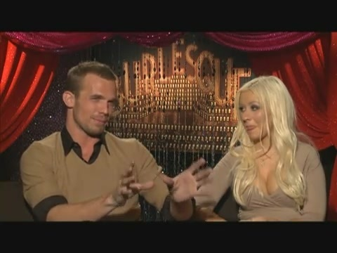 Cam Gigandet and Christina Aguilera, Burlesque Interview