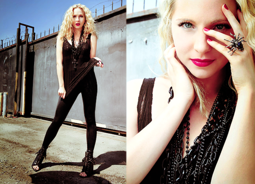 Candice Accola During A 照片 Shoot 100% Real :) x