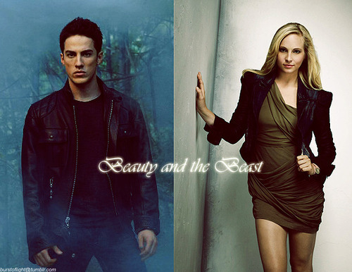 Caroline/Tyler (4wood) Beauty & The Beast (Wolfvamp) upendo Them 2gether 100% Real :) x