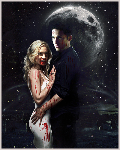 Tyler and Caroline wallpaper called Caroline/Tyler (4wood) Love Them 2gether (Wolfvamp) 100% Real :) x