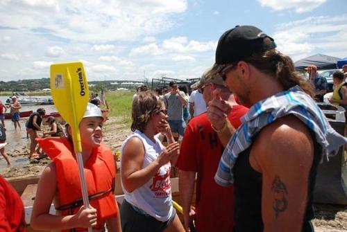 Charity Cardboard bateau Race