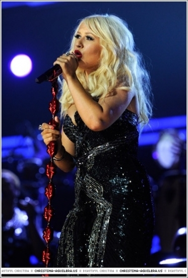 Christina Performs @ 2011