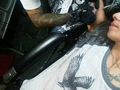 Christina getting a tattoo - christina-perri photo