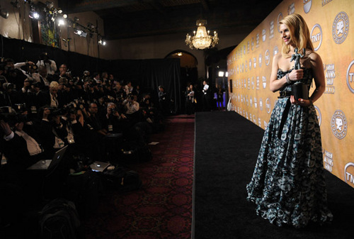 Claire @ The 17th Annual Screen Actors Guild Awards - Backstage And Audience