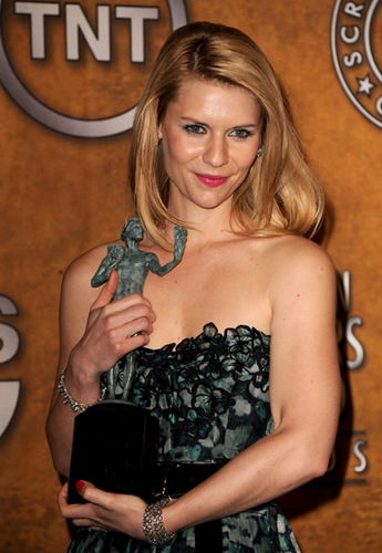 Claire @ The 17th Annual Screen Actors Guild Awards - Press Room