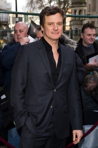 Colin Firth in BAFTA nominees brunch, brunch du at the Corinthia Hotel 20110212