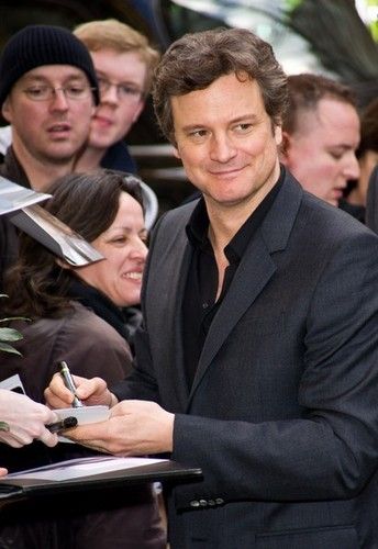 Colin Firth in BAFTA nominees brunch at the Corinthia Hotel 20110212