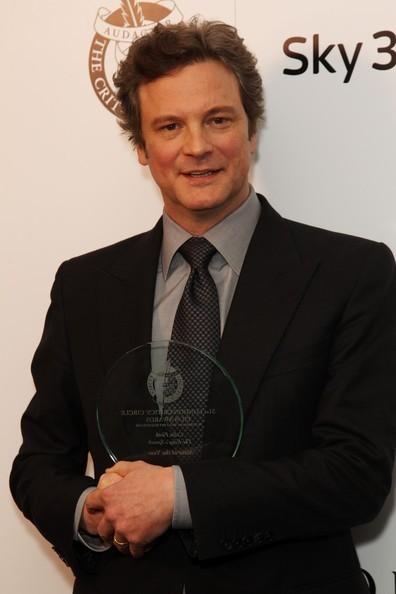 Colin Firth in London Critics Circle 2011