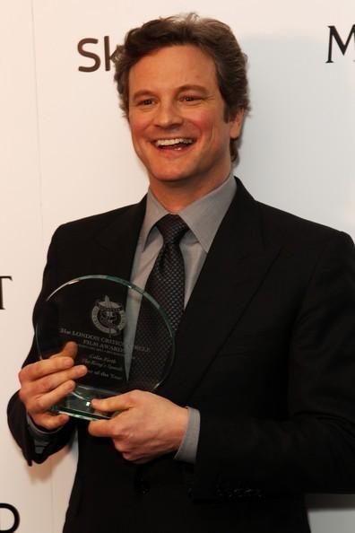 Colin Firth in Londres Critics cercle 2011