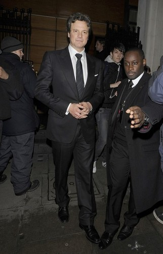 Colin Firth in a pre-BAFTA dinner at Automat restaurant in London 20110211 - colin-firth Photo