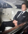 Colin Firth in a pre-BAFTA avondeten, diner at automaat, automat restaurant in London 20110211