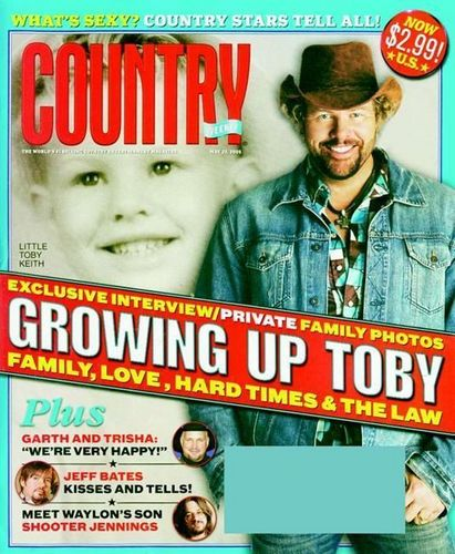 Country Weekly Toby Keith covers