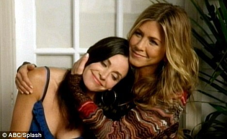 Courteney and jenn together again