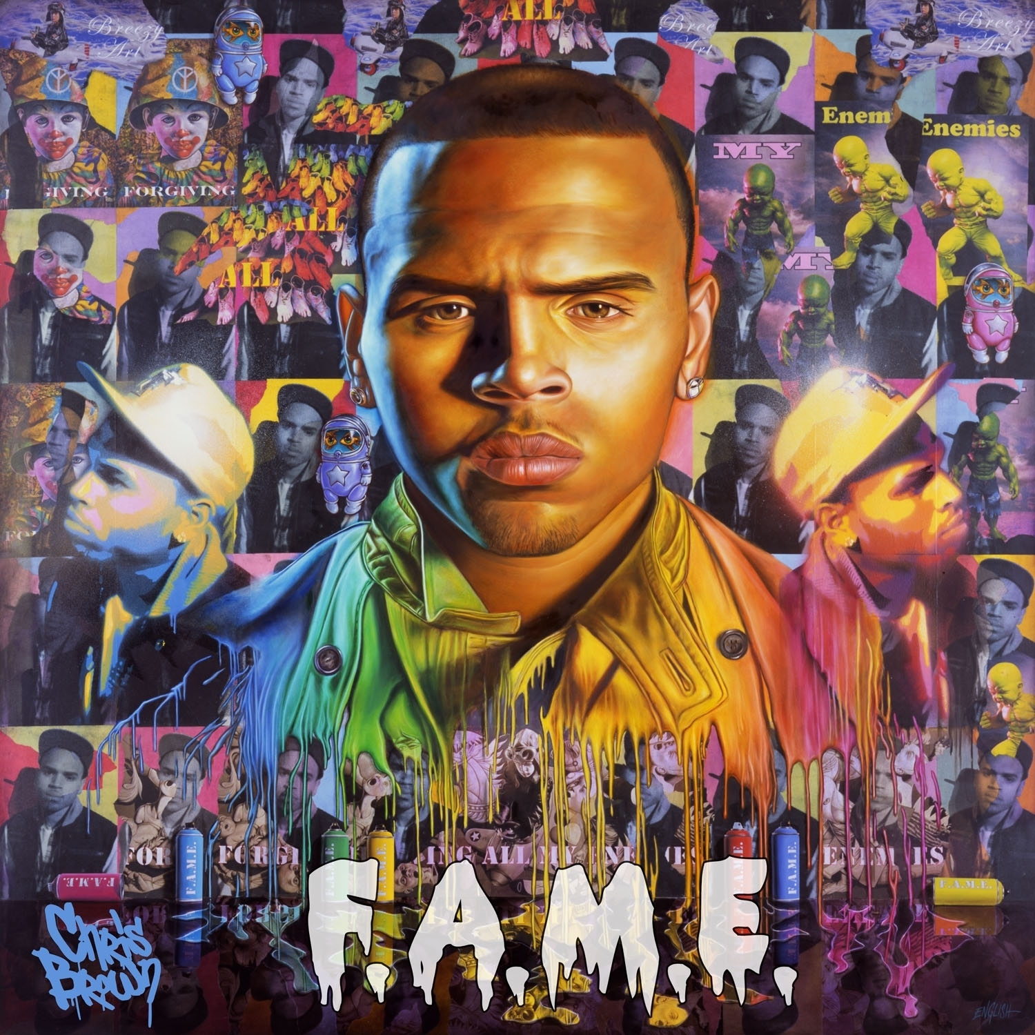 Cover for Chris Brown ...