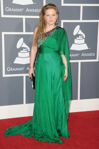 Crystal Bowersox @ the 2011 Grammy Awards