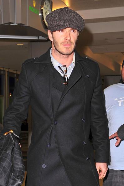 david beckham 2011 pics. David at JFK Airport