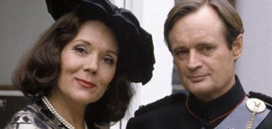Diana Rigg + David McCallum