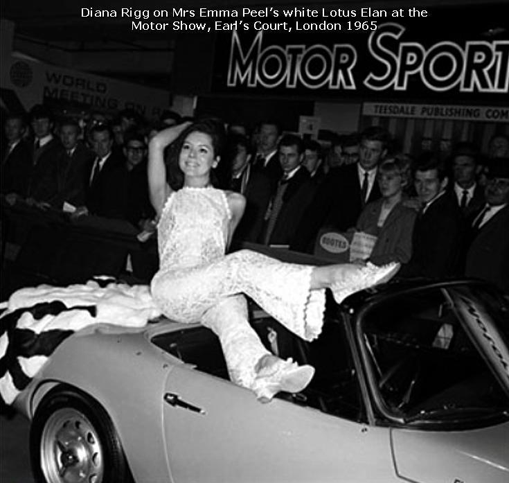 Diana Rigg - Motor hiển thị