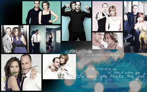Elliot and Olivia wallpaper called EO - Mariska/Chris