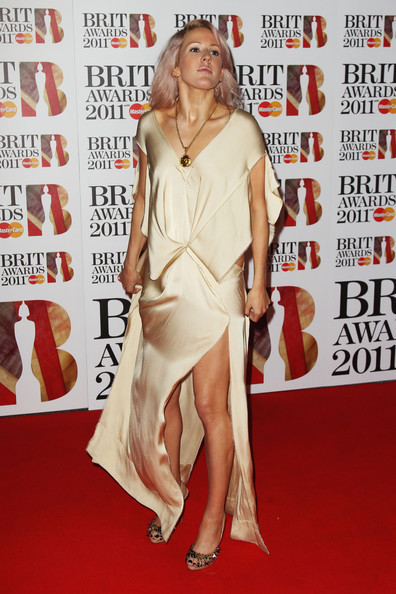 Ellie Goulding Brits. Ellie at Brit awards 2011