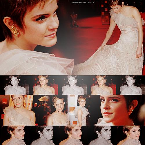 Emma @ the 2011 BAFTAs